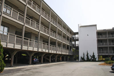 Atlantic Beach Condo/Townhouse For Sale: 2503 W Fort Macon Road W #207a