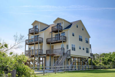 North Topsail Beach, Surf City, Topsail Beach Condo/Townhouse For Sale: 3145 Island Drive
