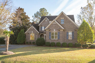 New Bern Single Family Home For Sale: 1101 Country Club Drive