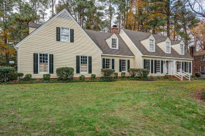 Rocky Mount Single Family Home For Sale: 3820 Winchester Road