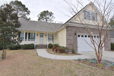New Bern Single Family Home For Sale: 105 Channel Run Drive