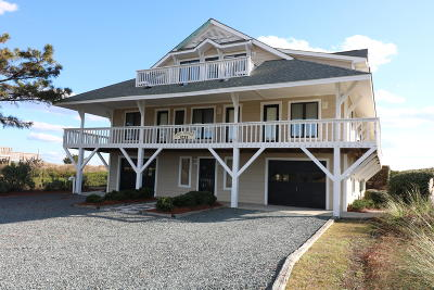 Holden Beach Single Family Home For Sale: 1233 Ocean Boulevard W