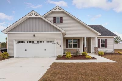 Holly Ridge Single Family Home For Sale: 602 Winfall Drive