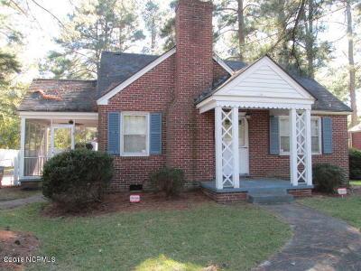 Nash County Single Family Home For Sale: 1109 Hammond Street