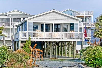 Holden Beach Single Family Home For Sale: 188 Ocean Boulevard W