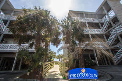 Carteret County Condo/Townhouse For Sale: 1701 Salter Path Road #101h