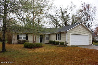 Hubert Single Family Home For Sale: 109 Pine Needle Drive
