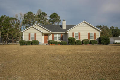 Sneads Ferry Single Family Home For Sale: 101 Knotts Court