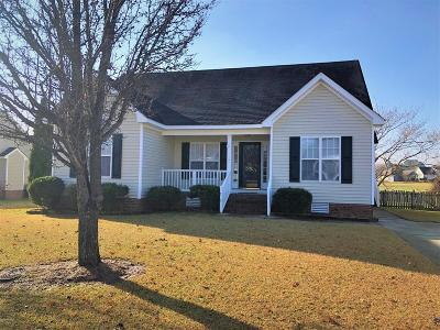 Winterville Single Family Home For Sale: 678 Ashley Meadows Drive
