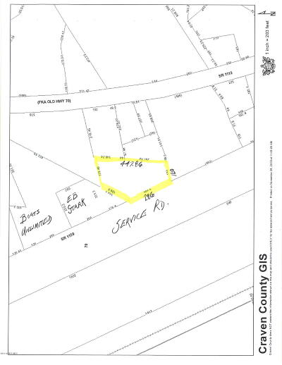 New Bern NC Residential Lots & Land For Sale: $165,000