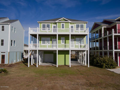 Ocean Isle Beach NC Single Family Home For Sale: $639,900