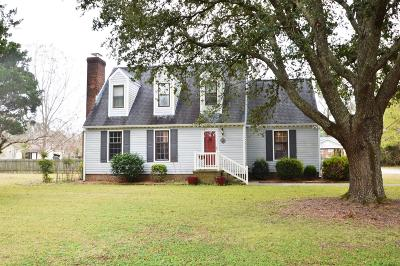 New Bern NC Single Family Home For Sale: $199,500