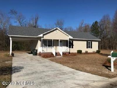 Grifton Single Family Home For Sale: 358 Olive Branch Boulevard