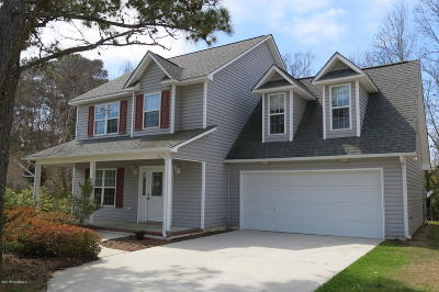 Beaufort NC Single Family Home For Sale: $235,000