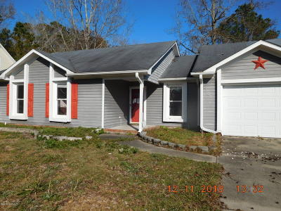 Jacksonville Single Family Home For Sale: 302 Raintree Circle