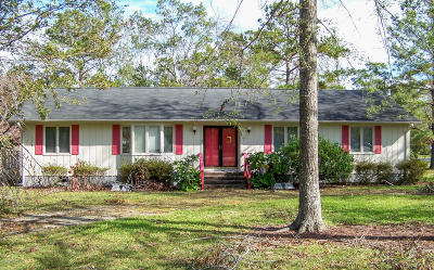 Morehead City NC Single Family Home For Sale: $219,000