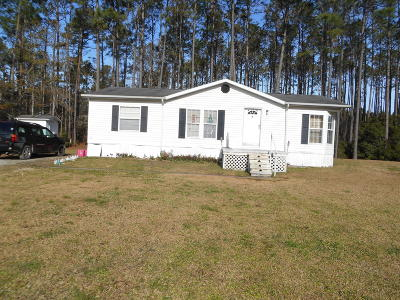 Beaufort Manufactured Home For Sale: 518, 520 Firetower Road