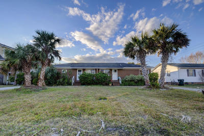 Wrightsville Beach Single Family Home For Sale: 209 Coral Drive #A And B