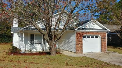 New Bern NC Single Family Home For Sale: $139,500