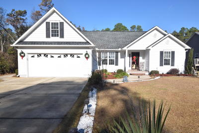New Bern NC Single Family Home For Sale: $180,000
