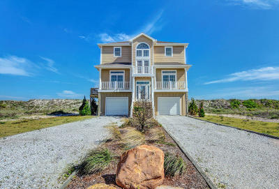North Topsail Beach, Surf City, Topsail Beach Single Family Home For Sale: 706 New River Inlet Road