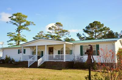 Cedar Island Manufactured Home For Sale: 2298 Cedar Island Road