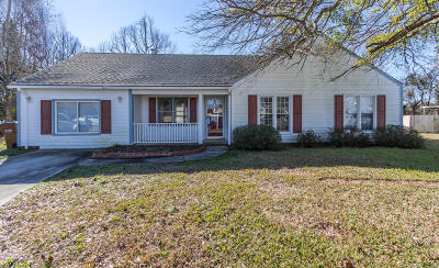 Jacksonville Single Family Home For Sale: 109 Corral Way