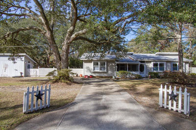 Southport Single Family Home Pending: 809 Memory Lane