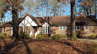 Rocky Mount Single Family Home For Sale: 1228 Waterloo Drive