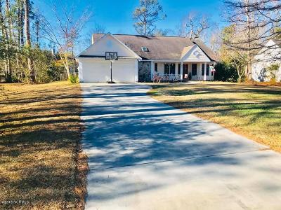 Morehead City Single Family Home Active Contingent: 407 Hillcrest Drive