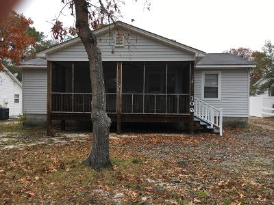 Oak Island NC Single Family Home For Sale: $229,000