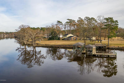 New Bern Single Family Home For Sale: 580 Goose Creek Road