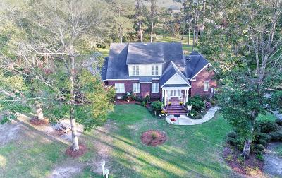 Shallotte Single Family Home For Sale: 3856 Bill Holden Road SW