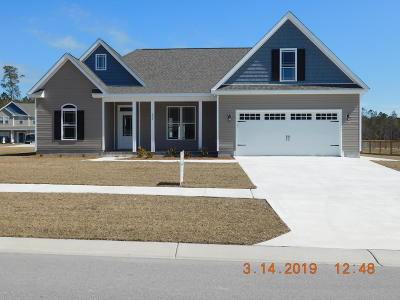 Swansboro Single Family Home For Sale: 105 Shadow Creek Drive