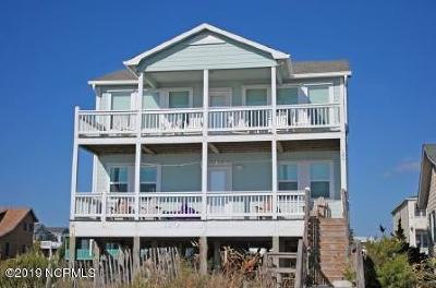 Holden Beach Single Family Home For Sale: 120 Ocean Boulevard E