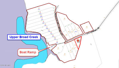 New Bern Residential Lots & Land For Sale: 3185 Lee Landing Road