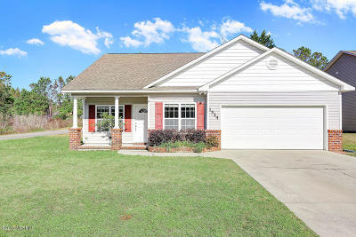 Leland Single Family Home For Sale: 1524 Reagan Court