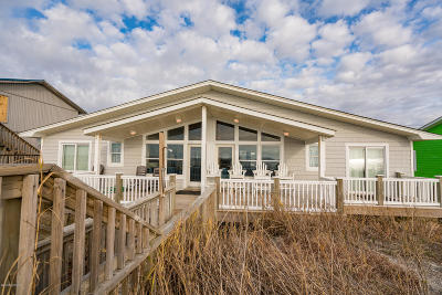 Emerald Isle Single Family Home For Sale: 1011 Ocean Drive