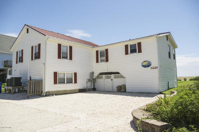 Oak Island Single Family Home For Sale: 3225 E Beach Drive