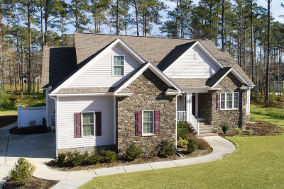 New Bern Single Family Home For Sale: 4523 Moss Bend