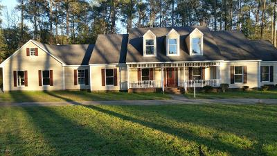 Edgecombe County Single Family Home For Sale: 208 Longwood Drive