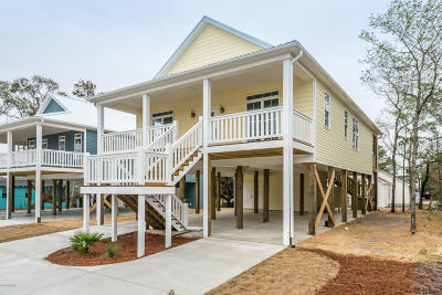 Oak Island Single Family Home For Sale: 154 NE 19th Street
