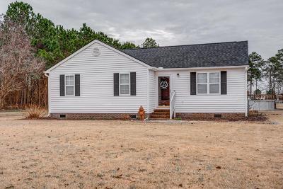 Elm City Single Family Home For Sale: 7437 S Nc 58 S