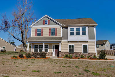 Onslow County Single Family Home For Sale: 213 River Oats Court