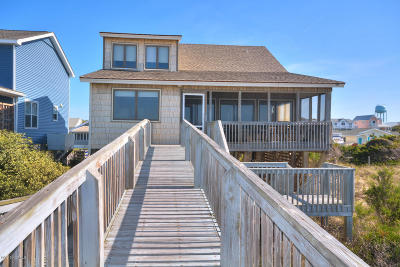 Oak Island Single Family Home For Sale: 2603 E Beach Drive