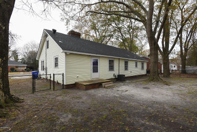 Greenville NC Single Family Home For Sale: $173,000