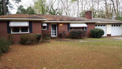 Grifton Single Family Home For Sale: 6592 N Highland Boulevard N