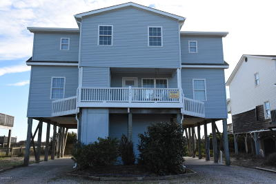 Holden Beach Single Family Home For Sale: 373 Ocean Boulevard W