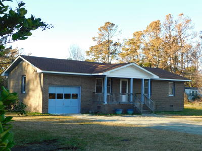 Beaufort Single Family Home For Sale: 1206 Marshallberg Road