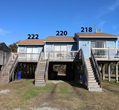 Onslow County Condo/Townhouse For Sale: 218 Sandpiper Drive